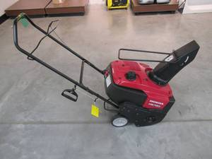 Honda 20 in. Single-Stage Gas Snow Blower HS720AM