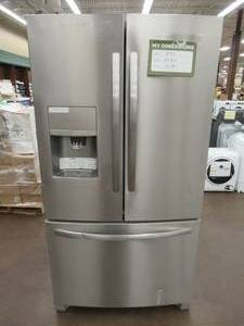 Frigidaire 26.8-cu ft French Door Refrigerator with Ice Maker (EasyCare Stainless Steel) LFHB2751TF