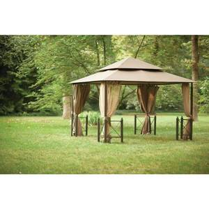 12 ft. x 12 ft. Outdoor Patio Harbor Gazebo by  Hampton Bay not used