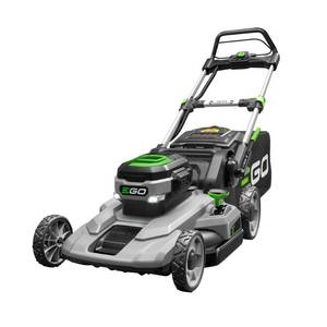 EGO 21 in. 56V Lithium-Ion Cordless Electric Walk Behind Push Mower, 5.0 Ah Battery and Charger Included in good conditions