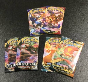 2020 Sword and Shield Pack Lot | 6 Packs