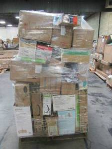 WHOLESALE MIXED PALLET OF LIGHTING AND CEILING FANS!