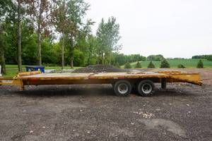2007 Pro Trak 27' HD Tandem Axle Dually Flatbed Equipment Trailer