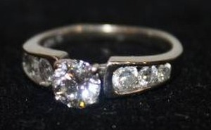 Unbelievable 14k White Gold Engagement Ring