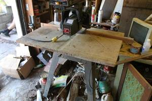 Craftsman radial arm saw - tested and works
