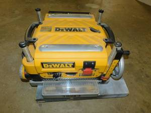 "DeWalt DW735 Heavy-Duty 13"" Three Knife, Two Speed Thickness Planer"