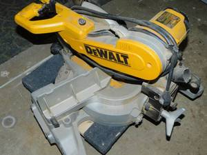 "DeWalt DW706 15 Amp. 12"" Compound Double Bevel Miter Saw"