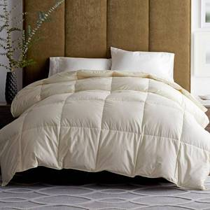 Legends Luxury Geneva Medium Warmth Ivory Goose Down Comforter - King, C2S2-K-IVORY - NEW!