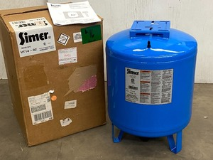 "New-In-Box Simer ""VT14-02 Pre-Charged Pressure Tank"