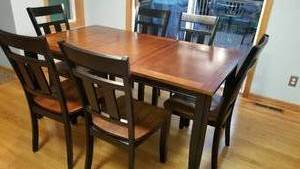 Harvest Dining Table with 6 Chairs