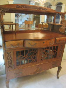 Antique Ornate Buffet