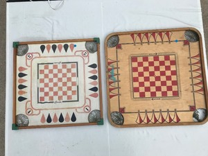 Antique Tabletop Game Boards