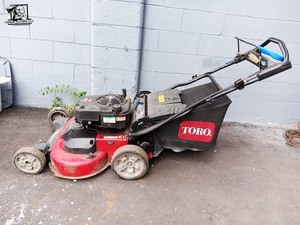 Toro  30 in Timemaster Dual Force Lawn Mower.