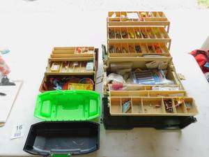 2 Large Tackle Boxes