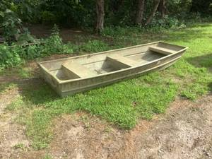 Flat Bottom 10' Duck Boat
