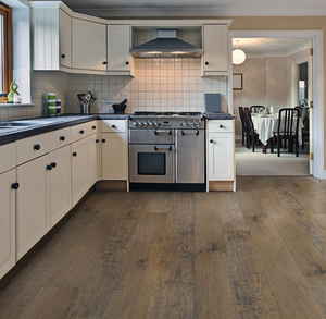 "475 SF HIGH-END Engineered Real Oak Wood Flooring by Canoe Bay 1/2"" *DURABLE"