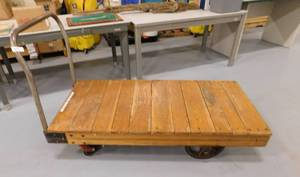 "Antique Cart - 29.5"" (w) x 5'"