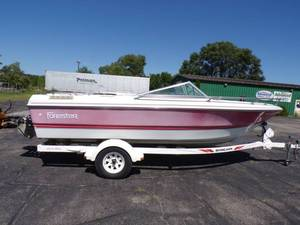 1991 Forester Boat with Cobra 4.3l inboard motor and trailer