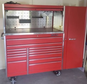 Huge Snap-On Master Workstation Tool Chest Locker