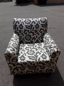 Floral Pattern Arm Chair