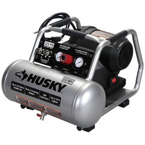Husky Electric Portable Air Compressor (4 Gal. 225 PSI)
