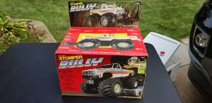 Un-opened Stomper billy Battery Controlled monster truck,  Muscle car Kits and assorted toys
