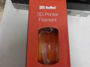 BuMat 3D Printer Filament- Orange...