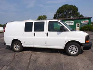 2011 Chevrolet Cargo Van with AWD