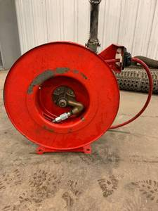 Used heavy duty industrial air hose...