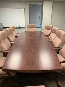 Used laminate board room or meeting...