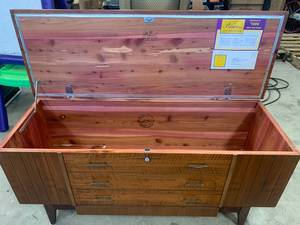 Vintage Princess Cedar Chest