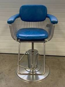 "1960's Barber Chair ""Belmont Takara"" Warren Planter Style Original from Joseph's School of Hair"