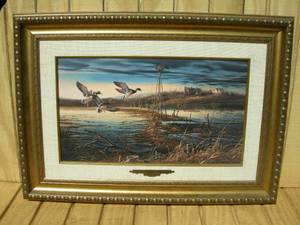 "Terry Redlin ""Spring Run-Off"" Wildlife Print"