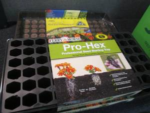2- 72 ct Jiffy Greenhouses, 2 Pro-H...