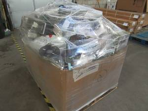 WHOLESALE MIXED PALLET OF MISCELLANEOUS KITCHENWARE AND SMALL APPLIANCES!