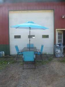 Patio Set W/ Umbrella