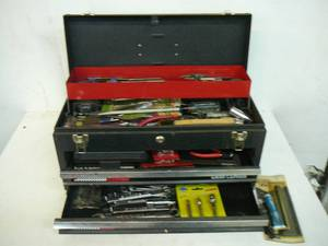 Craftsman Rally Tool Box & Tools