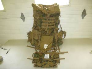 Military Ruck Sack Pack Set
