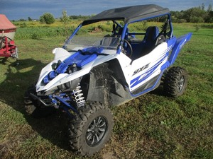 2016  YAMAHA YXZ  ATV WITH SILBER TURBO
