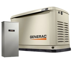 New Generac 16000-Watt (LP)/16000-Watt (NG) Air Cooled Standby Generator with Wi-Fi and Whole House 200 Amp Auto Transfer Switch