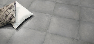 "5 cases of Imported Fine Italian 12""x24"" ""Piccadilly Grey Scaro"" Porcelain Floor Tile"
