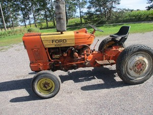FORD 4500 INDUSTRIAL TRACTOR