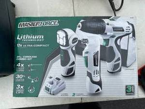 Master Force Electric Tool Set