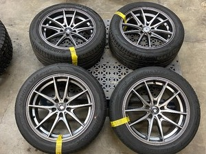 "Set Of (4) Hankook Tires With 17"" Wheels"