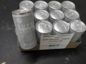 Case of 12 - 6.5 oz KITU Super Espr...
