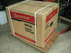 Kipor Water Transfer/Trash Pump