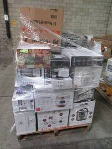 WHOLESALE MIXED PALLET OF SMALL KITCHEN APPLIANCES AND KITCHEN HOUSEWARES!