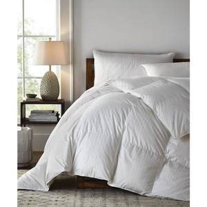 Legends Luxury Royal Baffled Light Warmth White Oversized King Goose Down Comforter