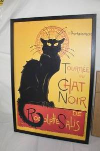 Tournee Du Chat Noir de Rodolptte  Framed  Wall Art