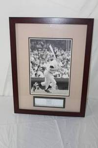 Legends Of The Game Mickey Charles Mantle The Commerce Comet New York Yankees 1951-1968  Framed  Matted Wall Art
